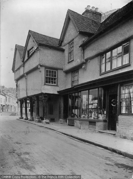 Photo of Ledbury, New Street c.1938