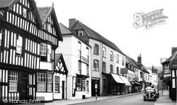 New Street c.1955, Ledbury