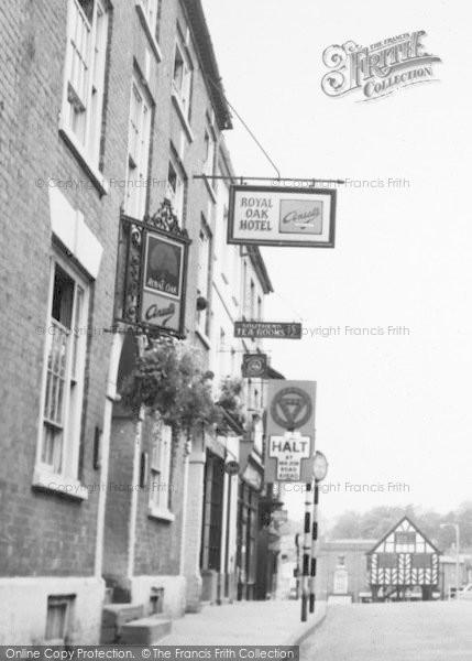 Photo of Ledbury, Royal Oak Hotel c.1955