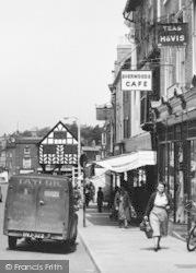 Ledbury, Sherwoods Cafe, High Street c.1955