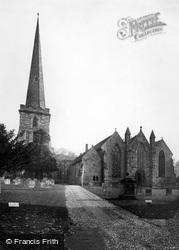 St Michael's Church c.1880, Ledbury