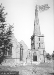 Ledbury, The Church c.1960