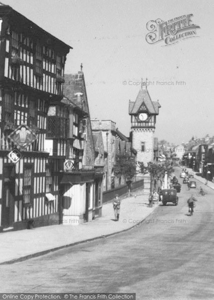 Photo of Ledbury, The Clock Tower  c.1938