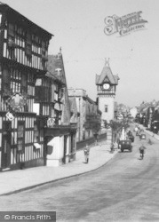 Ledbury, The Clock Tower  c.1938