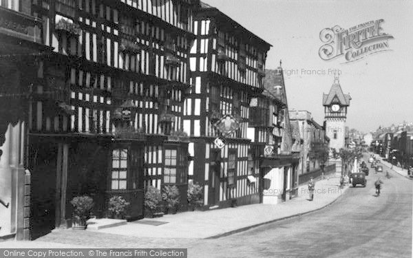 Photo of Ledbury, The Feathers Hotel c.1938