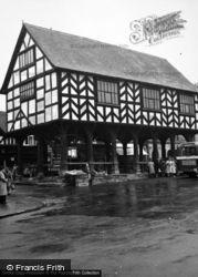 Ledbury, The Market House c.1950