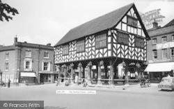 Ledbury, The Market House c.1960