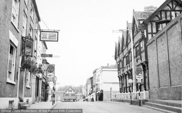 Photo of Ledbury, The Park And High Street c.1955