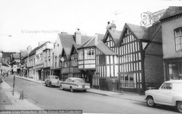 Photo of Ledbury, The Talbot Hotel c.1960