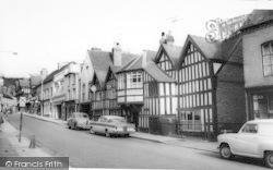 The Talbot Hotel c.1960, Ledbury