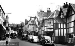 Ye Olde Talbot Hotel c.1955, Ledbury