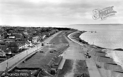 Lee On The Solent, Beach From The Tower c.1962, Lee-on-The-Solent