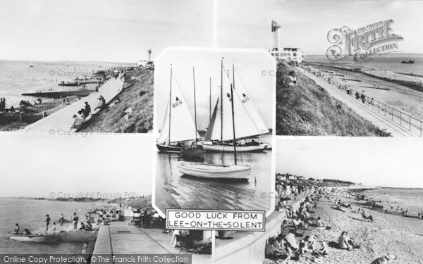 Photo of Lee On The Solent, Composite c.1960
