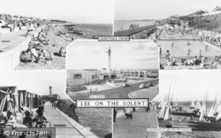Lee On The Solent, Composite c.1960