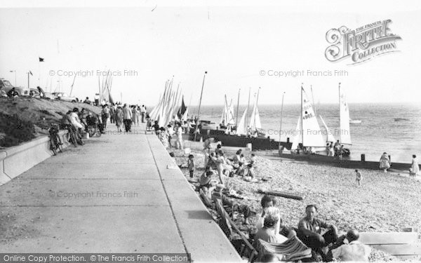 Photo of Lee On The Solent, East Beach c.1960