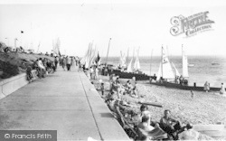 Lee On The Solent, East Beach c.1960