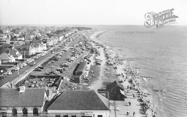 Photo of Lee On The Solent, East Parade c.1960