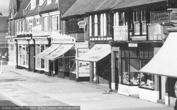 Photo of Lee On The Solent, High Street, Shops c.1960