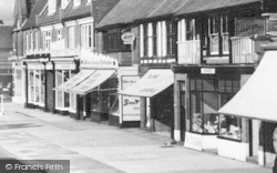 Lee On The Solent, High Street, Shops c.1960, Lee-on-The-Solent
