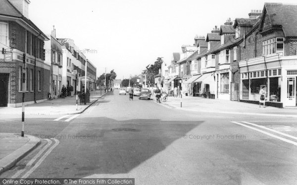 Photo of Lee On The Solent, High Street West c.1960