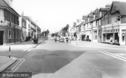 Lee On The Solent, High Street West c.1960, Lee-on-The-Solent