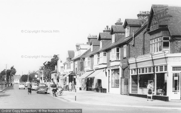 Photo of Lee On The Solent, High Street West Shops c.1960