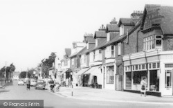 Lee On The Solent, High Street West Shops c.1960, Lee-on-The-Solent