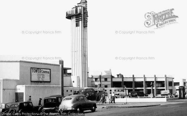 Photo of Lee on the Solent, Lee Tower c1955