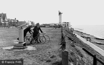 Lee on the Solent, Lee Tower from the West c1955