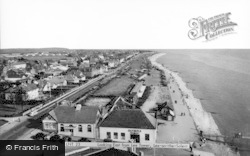 Lee On The Solent, Looking East From Lee Tower c.1960
