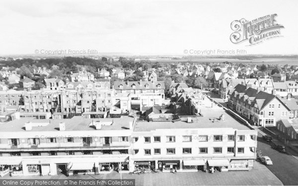 Photo of Lee On The Solent, Marine Parade From The Tower c.1960