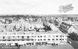 Lee On The Solent, Marine Parade From The Tower c.1960, Lee-on-The-Solent