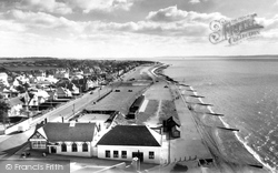 Lee On The Solent, The Beach And Former Railway Station c.1960, Lee-on-The-Solent