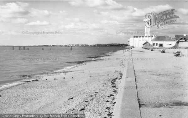 Photo of Lee On The Solent, The Beach c.1960