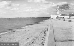 Lee On The Solent, The Beach c.1960, Lee-on-The-Solent