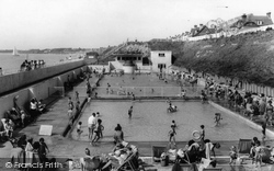Lee On The Solent, The Children's Swimming Pool c.1960, Lee-on-The-Solent