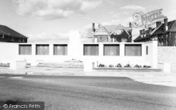 Lee On The Solent, The Memorial c.1960, Lee-on-The-Solent