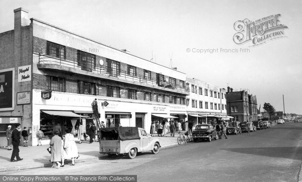 Photo of Lee On The Solent, The Parade c.1955
