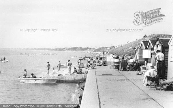 Photo of Lee On The Solent, West Beach c.1960
