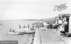 Lee On The Solent, West Beach c.1960, Lee-on-The-Solent