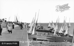 Lee On The Solent, Yachting On The Solent c.1960