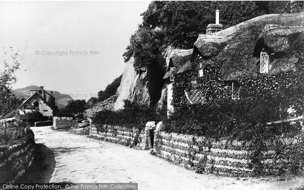 Photo of Lee, Post Office and Old Maid's Cottage 1890, ref. 22959