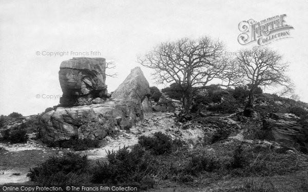 Photo of Leeds, Blackmoor, Alwoodley Crags 1891