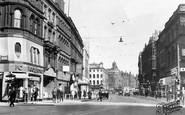 Leeds, Boar Lane c1955