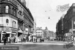 Leeds, Boar Lane c.1955