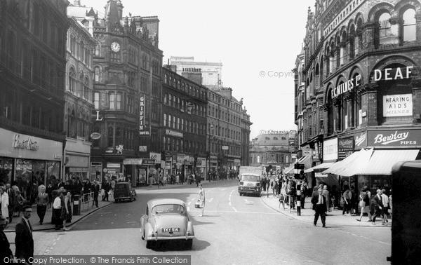 Leeds, Boar Lane c1965