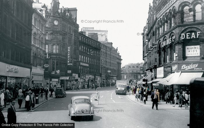 Photo of Leeds, Boar Lane c.1965