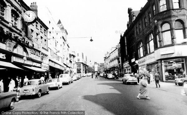 Photo of Leeds, Briggate c.1965