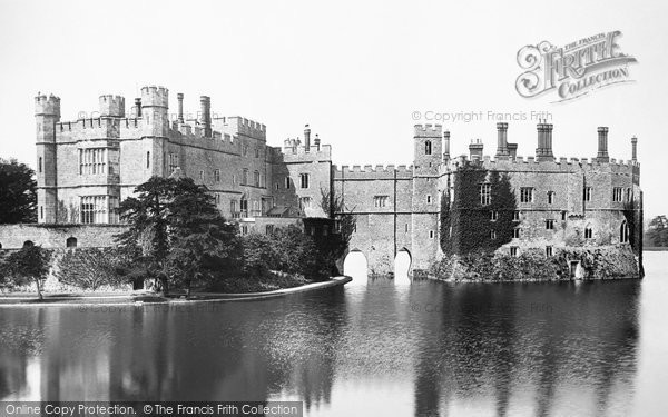 Photo of Leeds, Castle 1892