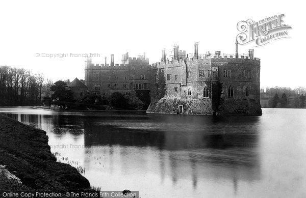 Photo of Leeds, Castle 1892